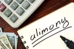 Alimony notes and a calculator